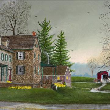 Christopher Lanser, poole forge, mansion,