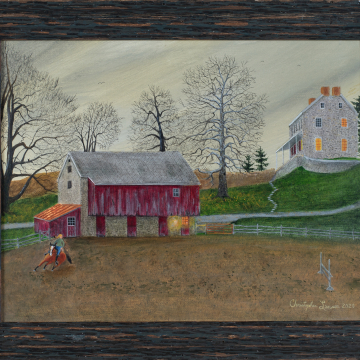 Devon Prep 9 x 12 Oil on Canvas