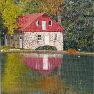 Print: Koser Mill 8x10