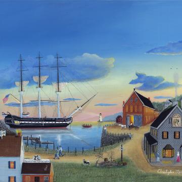 Morgan's Cove - 16 x 20 Oil on Canvas