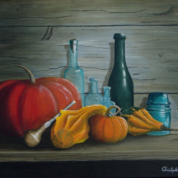 Pumpkins and Bottles
